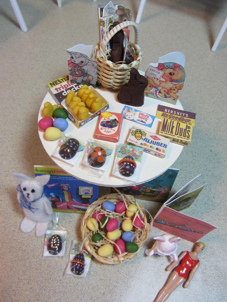 5 Of 7 Easter Baskets For The Girls I Made All Of This