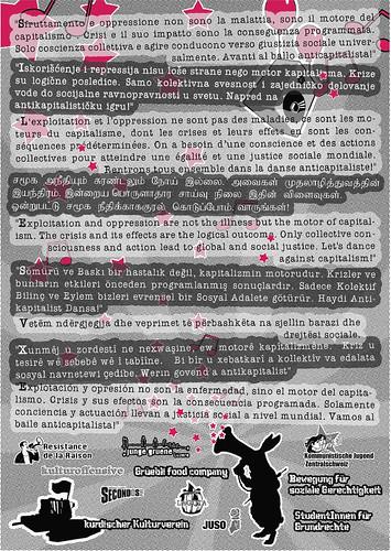 Empören war gestern... Widerstand ist heute - Flyer Back - 05.05.2012 - PUEBLO CRIMINAL