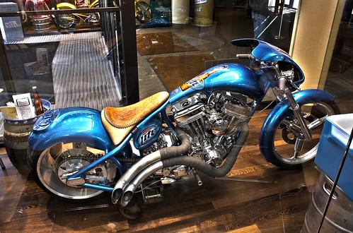 Miller Lite Custom Bike-3 Image HDR