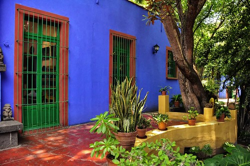 Frida Kahlo House, Mexico City
