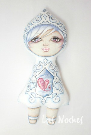 Blue Star doll by Las Noches Art