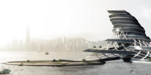 Команда архитекторов надеется решить одну из главных проблем Гонконга - отсутствие достаточных запасов пресной воды