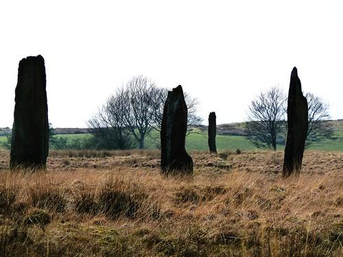 Prehistoric Standing Stones, Isle of Arran, Scotland