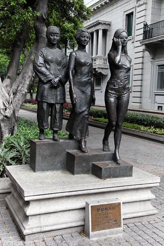 Three Generations of Chinese Women