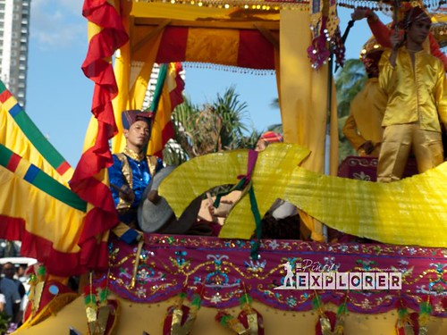 Aliwan Fiesta 2012 | Sagayan Festival Float