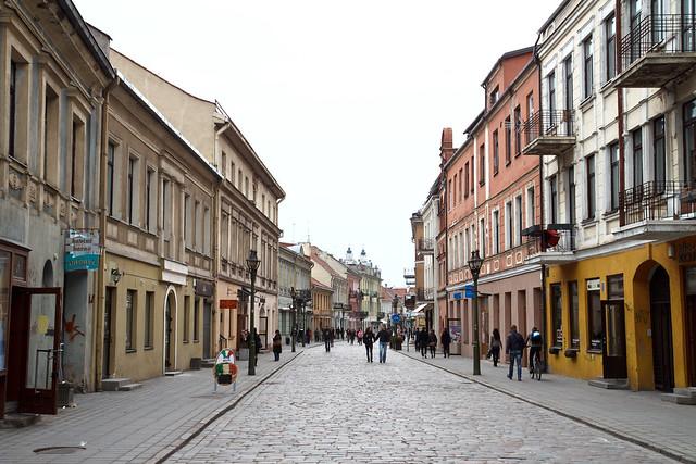 Kaunas. Vilniaus gatvė