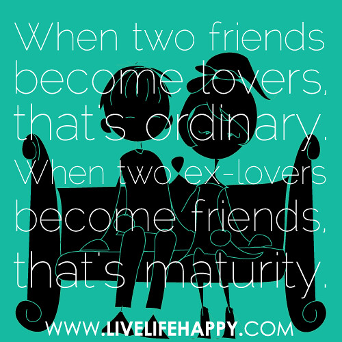 when two friends become lovers that 39 s ordinary when two