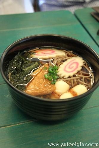 Soba Noodle Soup, Poco Homemade, Café & Atelier