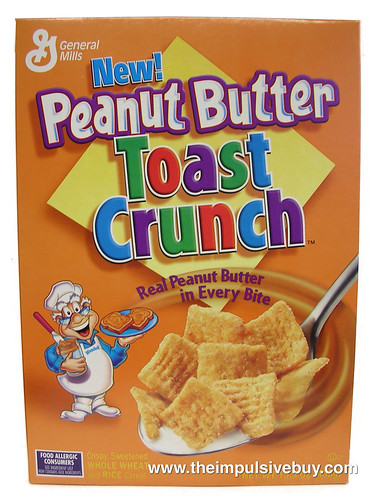 Peanut Butter Toast Crunch Cereal
