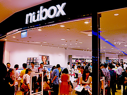 Nubox opened its 11th store in Singapore at JCube today.