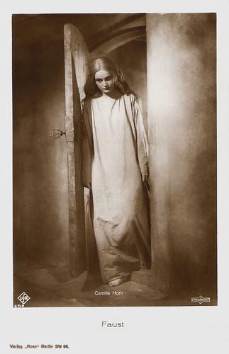 Camilla Horn, Faust