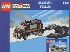 Lego Model Team Nr. 5581 Magic Flash - Overhaulled