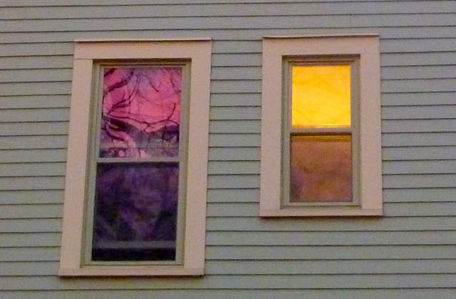 West-facing Windows