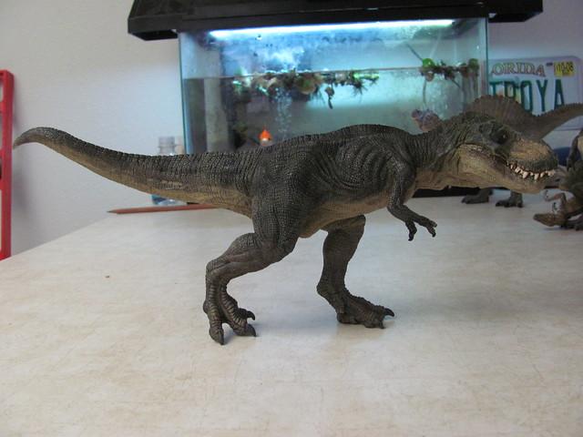 Papo running rex