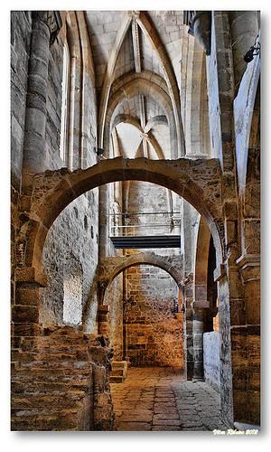 Interior da Igreja de Santa Clara a Velha #6 by VRfoto