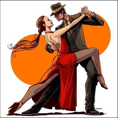 Tango, por Cris Vector