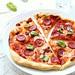 pizza stracchino e salame piccante