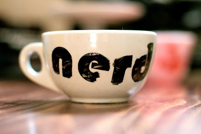 Handpainted Nerd Mugs