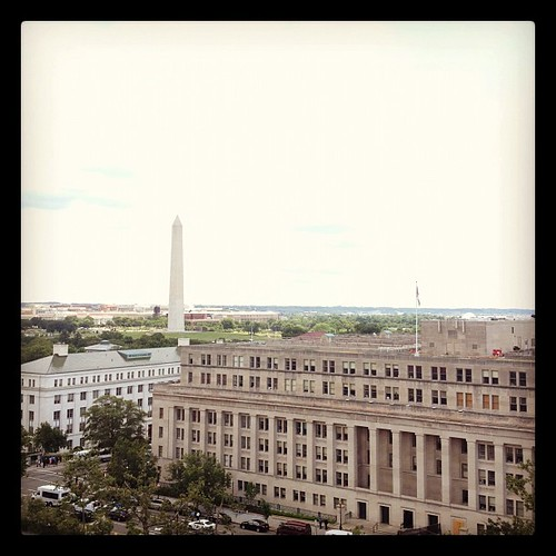 Better shot of the view from the #gsa headquarters roof