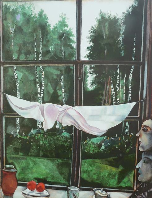 Шагал, Окно на даче