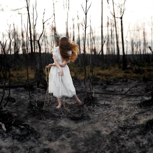 無料写真素材, 人物, 女性, 人物  森林
