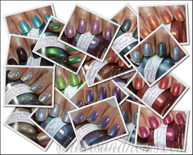 Enchanted Polish Collage
