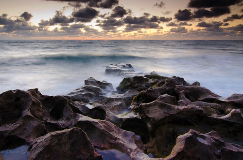 ocean usa sunrise landscape fl jupiter blowingrocks