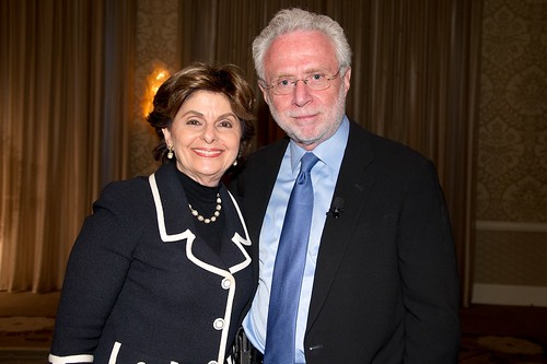 Wolf Blitzer & lawyer Gloria Allred