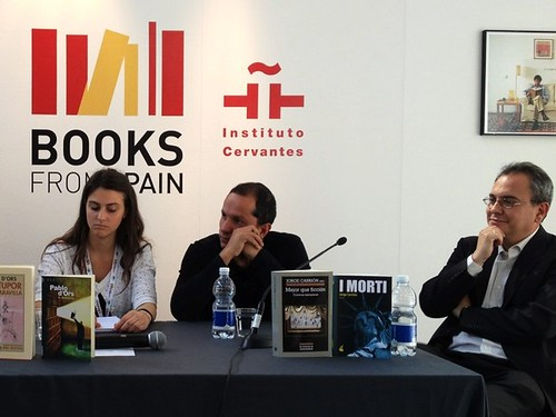 """SalTo12 14MAY (07) """"La letteratura nasce dalla letteratura e questo non è uno slogan. Gli scrittori devono misurarsi con i grandi"""" (Pablo d'Ors)"""