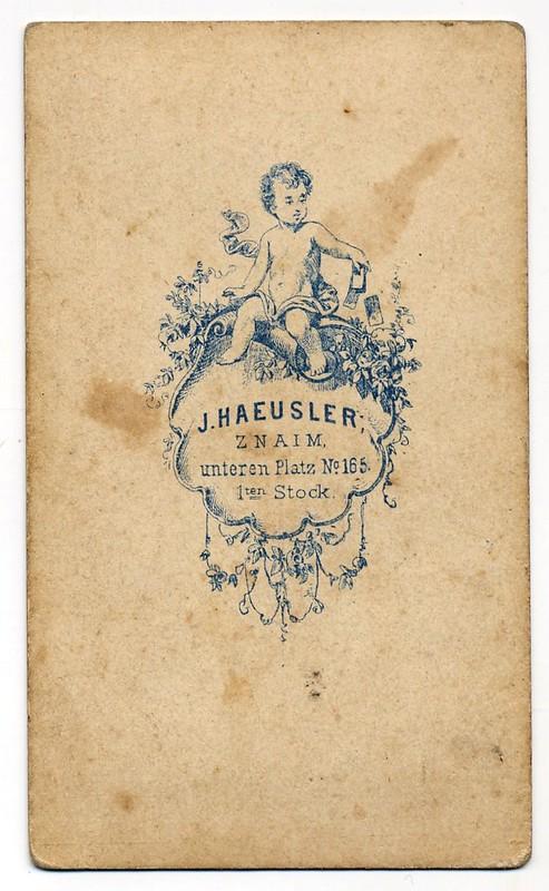 Jakob Haeusler, Znojmo - Verso