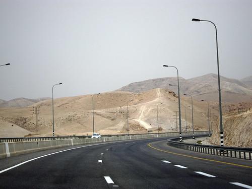 driving to Jerusalem