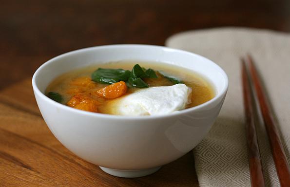 butternut squash miso soup