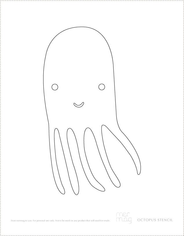 MerMagDIYtshirtsOctopusStencil