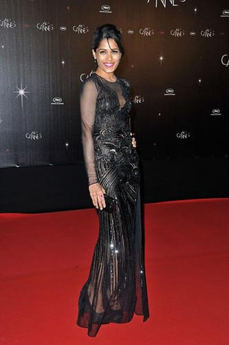 Freida Pinto @ opening night dinner for the 65th Annual Cannes Film Festival 4
