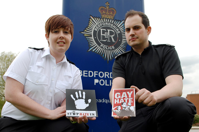 Bedfordshire Gay Police Association Supports IDAHO Day
