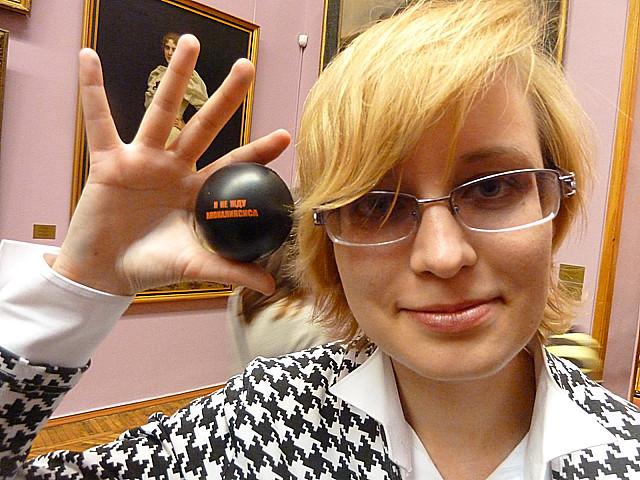 Минск Ночь музеев 2012  Вера 2