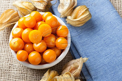Physalis Fruit in Bowl