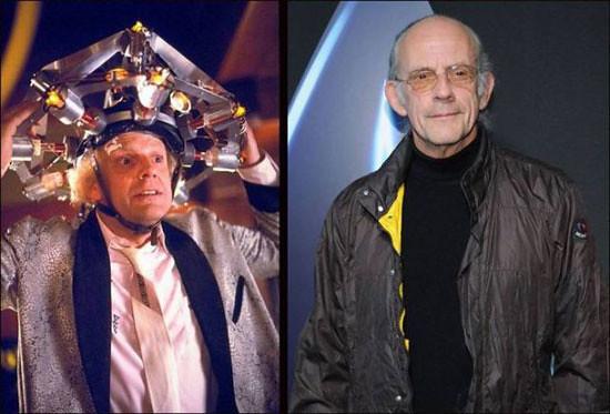 Los personajes de Volver al Futuro, el pasado y presente