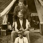 PCK_000008  Uncle Gordon Grampa Bowen and Uncle Arthur at Trecco Bay 1941