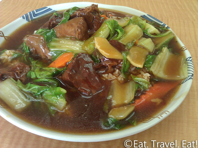 May's Cafe- Arcadia, CA: Beef Stew on Rice