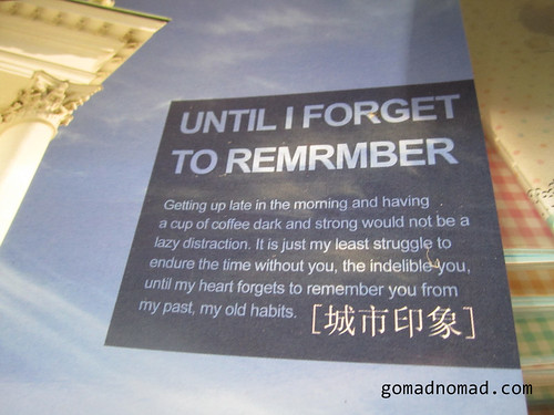until i forget