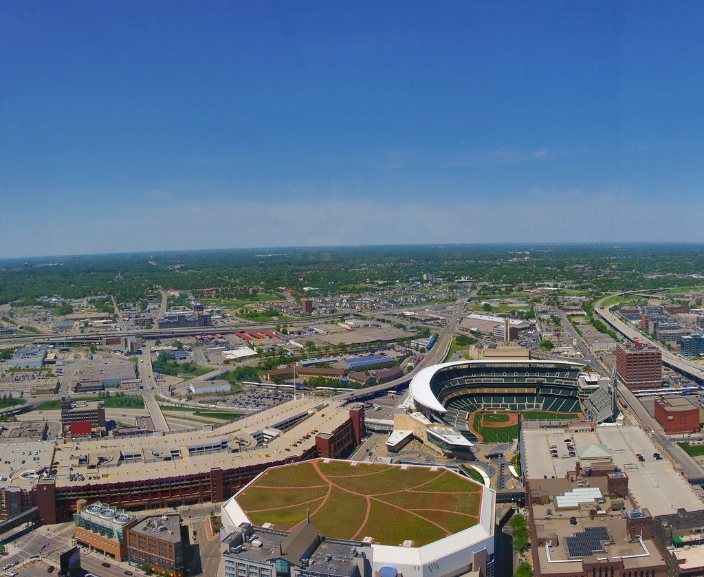 Target Field from Target Tower