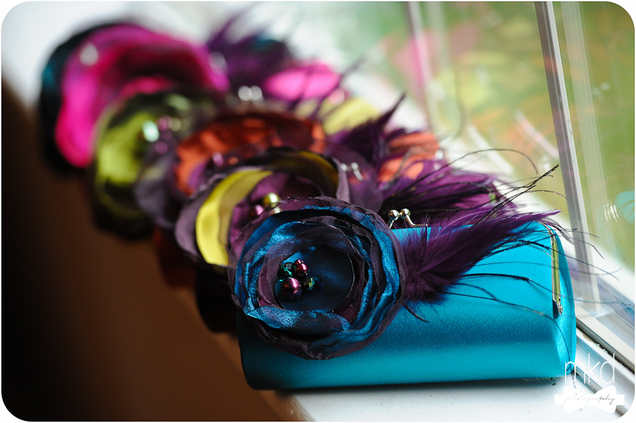 Awesome Colorful Custom Bridesmaid Purses