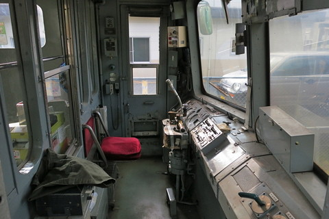 青ガエルに会いに熊本電鉄へ