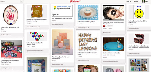 Father's Day Ideas Pinterest Board