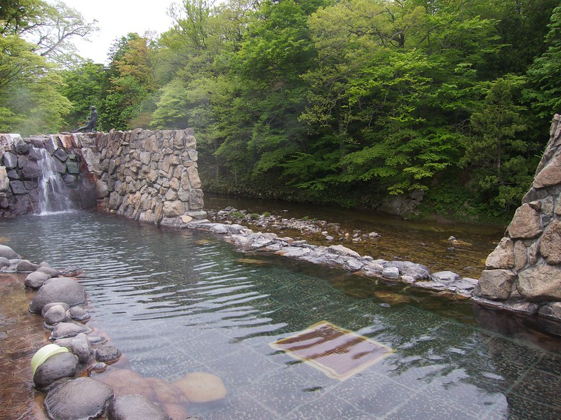 青森2012 夫婦かっぱの湯 奥薬研温泉