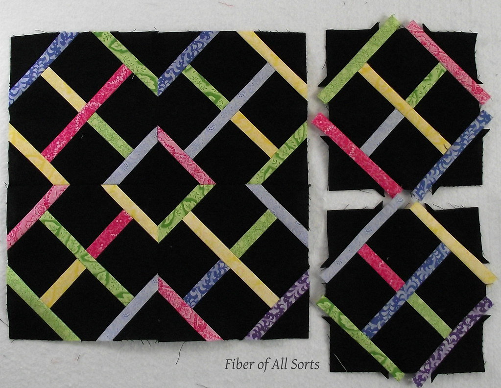 Garden Lattice - {Sew Bee It} April '12