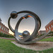 UNCC Sculpture (HDR) by Jonathan Hartzell / the Archangel