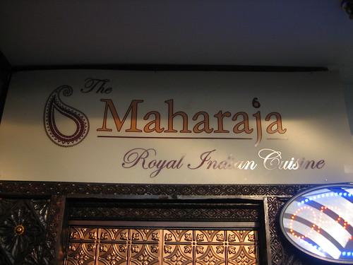 IMG_4802 The Maharaja  Sign