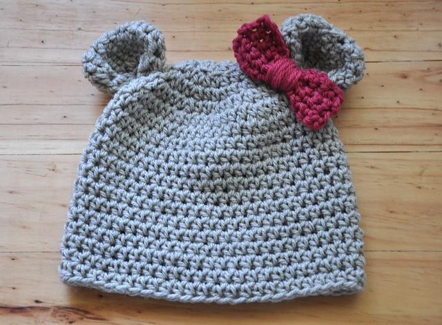 Girly Bear Hat